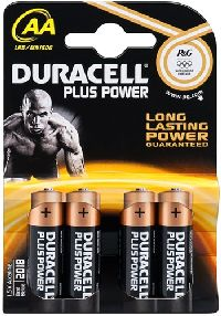 Duracell 49514 Plus Power LR6/AA (Mignon) (MN1500), 4 Stk. Blister - A